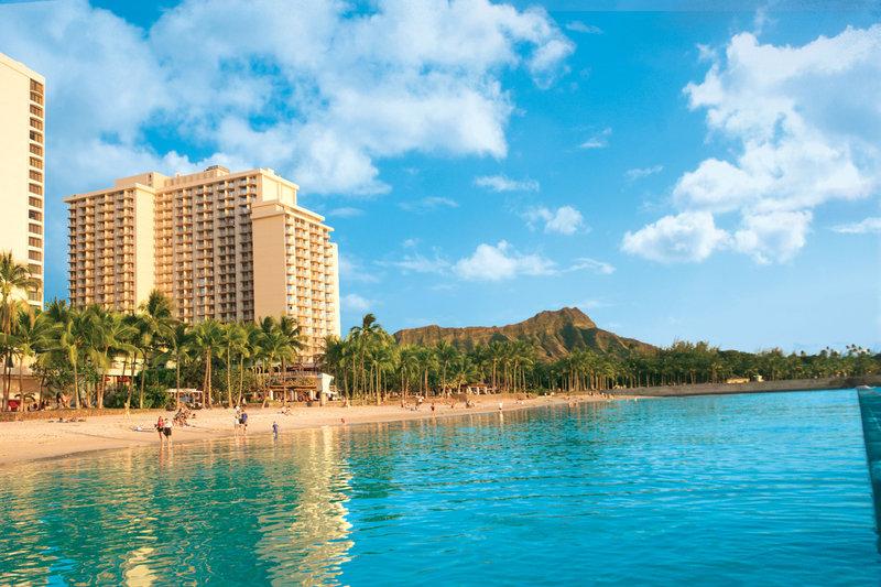Aston Waikiki Beach Hotel - Hotel Exterior Full Front <br/>Image from Leonardo
