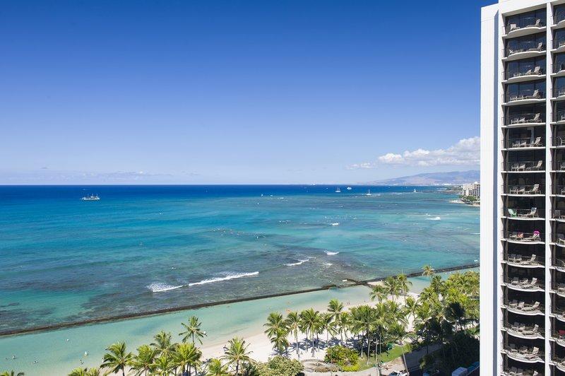 Aston Waikiki Beach Hotel - Hotel Room Ocean View Deluxe 2 <br/>Image from Leonardo