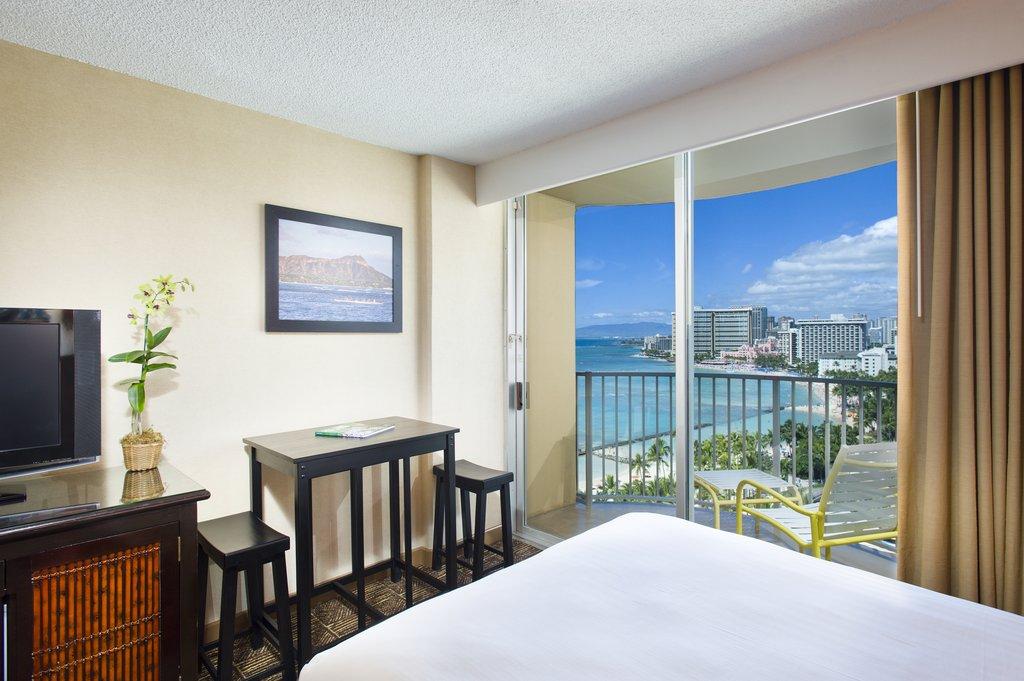 Aston Waikiki Beach Hotel - Hotel Room Ocean View Deluxe 3 <br/>Image from Leonardo