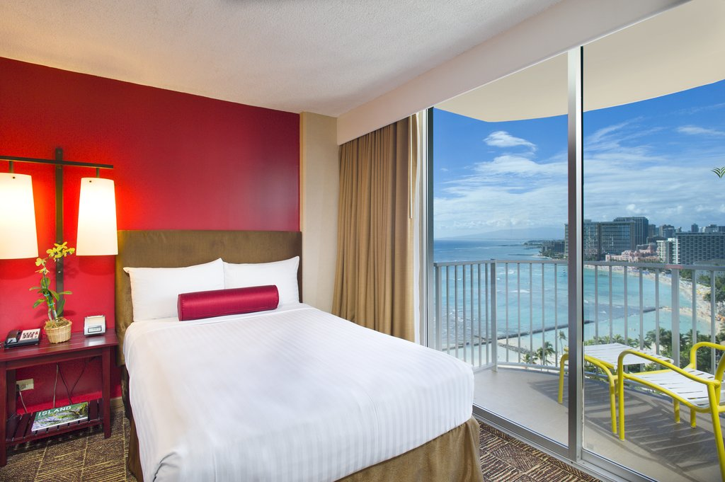 Aston Waikiki Beach Hotel - Hotel Room Ocean View Select <br/>Image from Leonardo