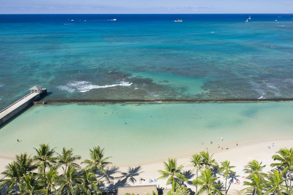 Aston Waikiki Beach Hotel - Hotel Room Oceanfront View <br/>Image from Leonardo
