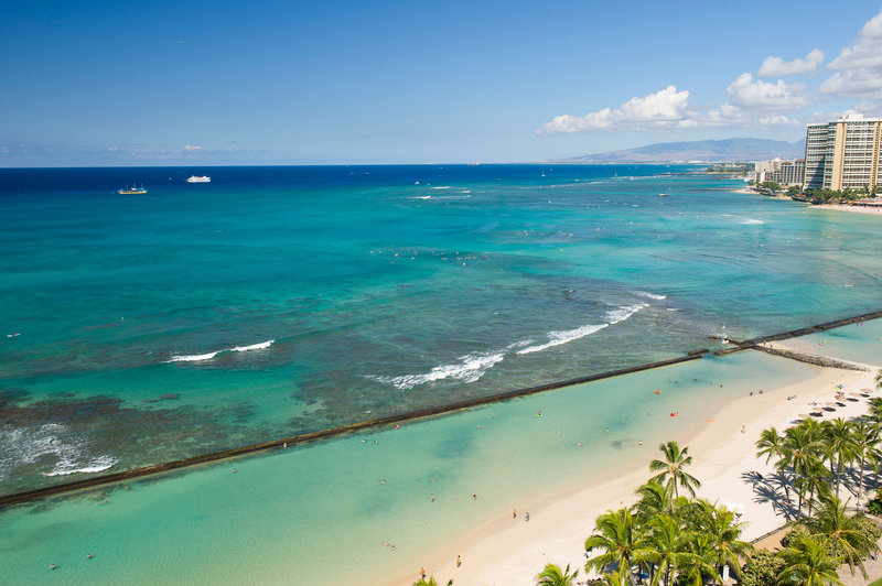 Aston Waikiki Beach Hotel - Hotel Room Oceanfront View <br/>Image from Leonardo