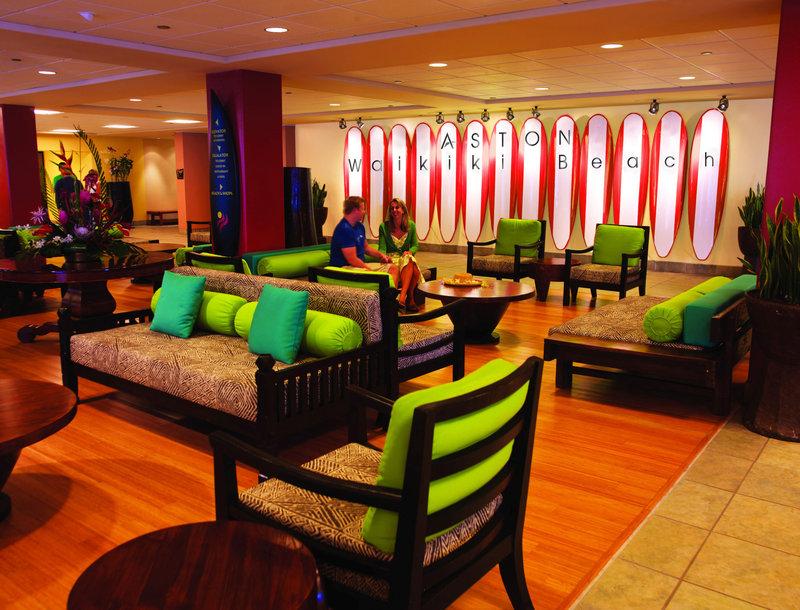 Aston Waikiki Beach Hotel - Lobby <br/>Image from Leonardo