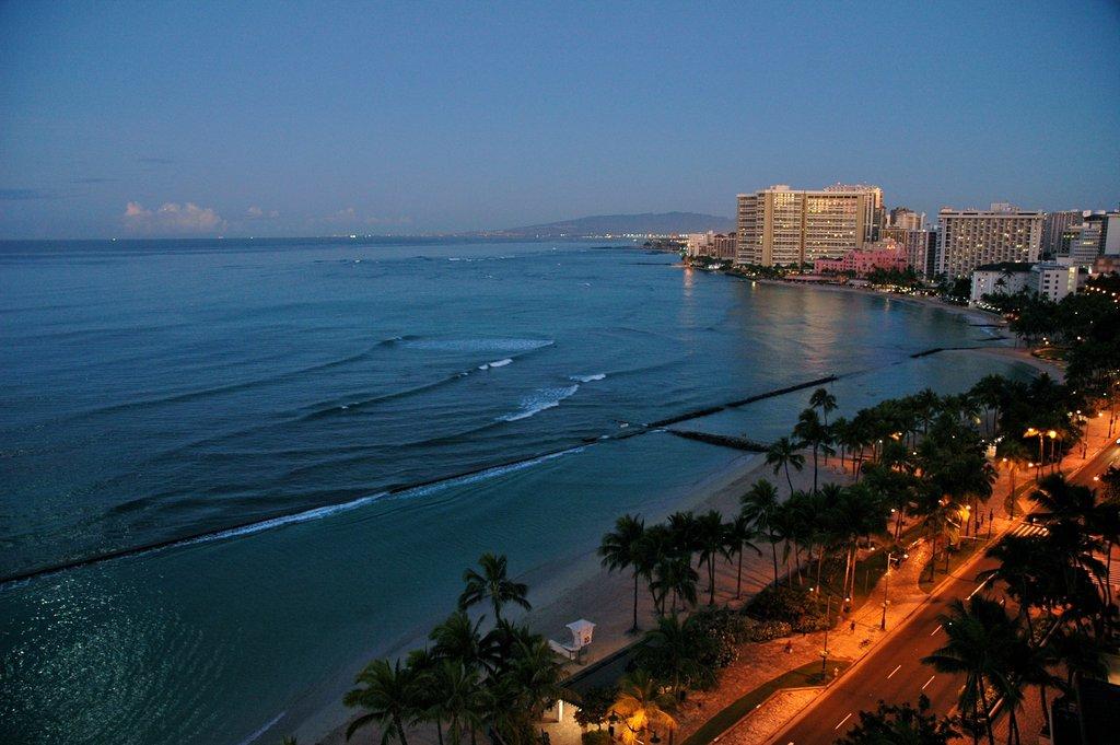 Aston Waikiki Beach Hotel - View From Hotel <br/>Image from Leonardo