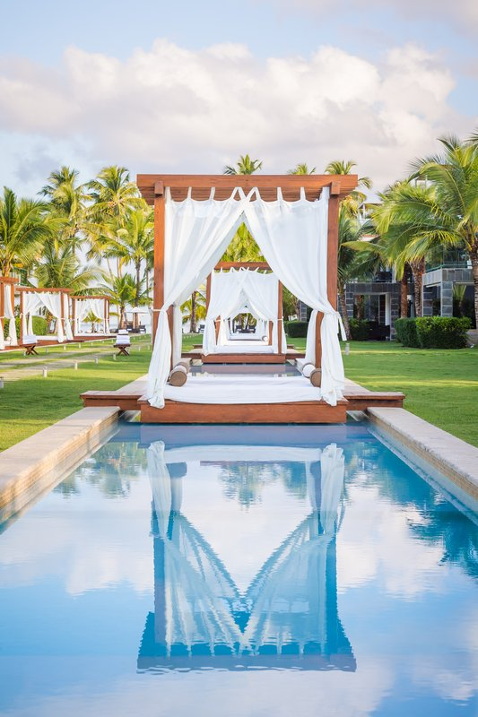 Sublime Samana Hotel & Residences-Cabana day beds<br/>Image from Leonardo