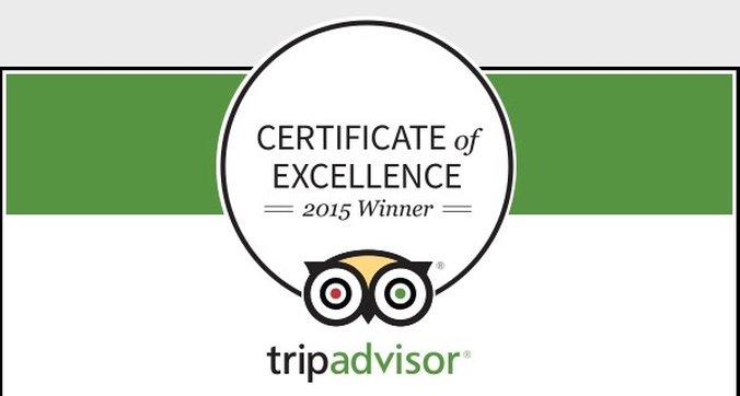 Best Western Fireside Inn-TripAdvisor Certificate<br/>Image from Leonardo