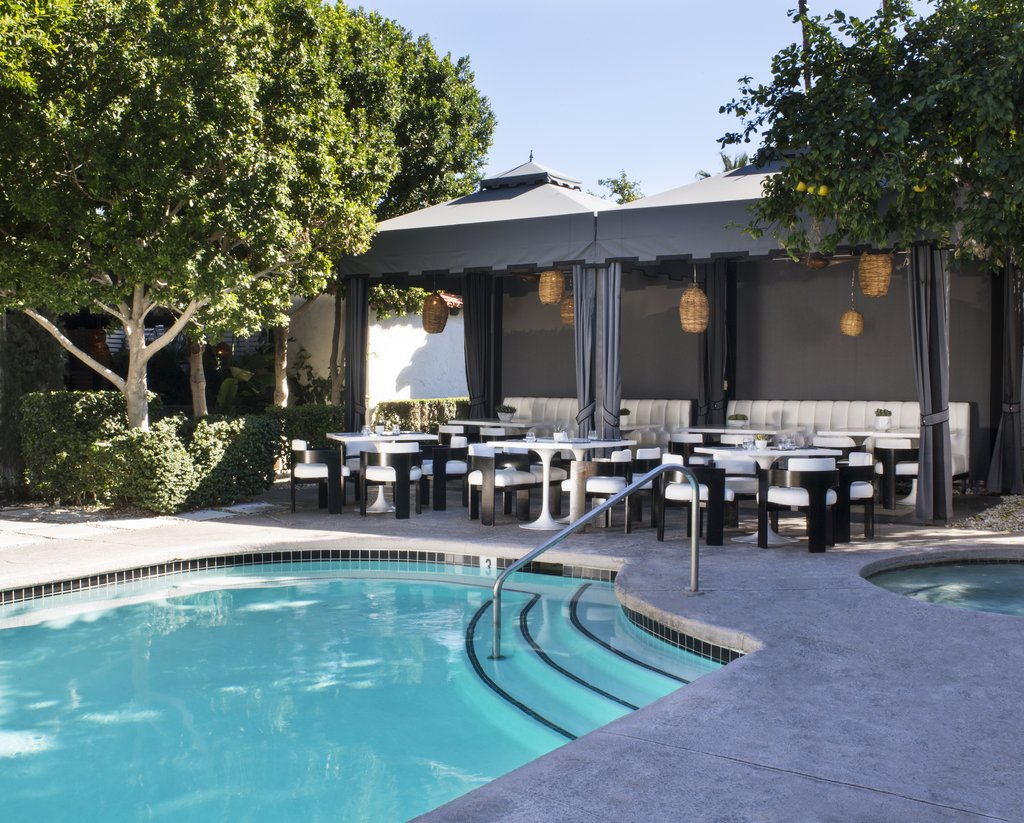 Avalon Hotel and Bungalows-Chi Chi Pool And Patio Cabana<br/>Image from Leonardo