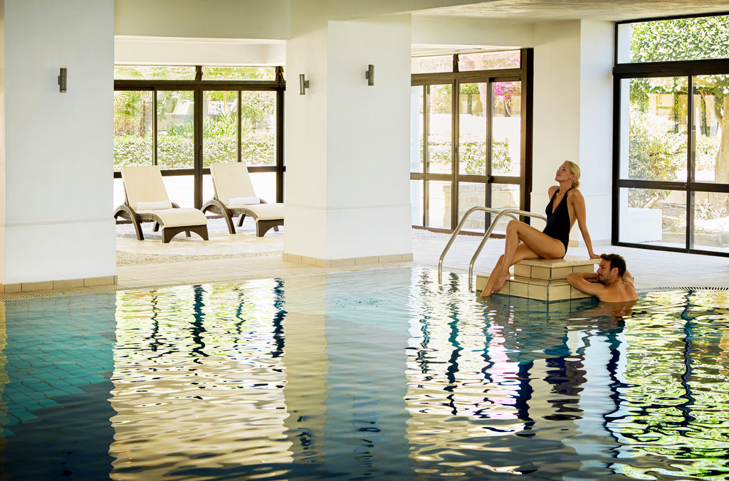 Corinthia Palace Hotel & Spa-Indoor Pool<br/>Image from Leonardo