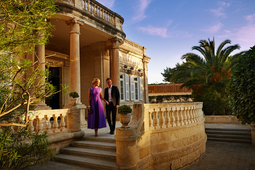 Corinthia Palace Hotel & Spa-Old Villa Entrance<br/>Image from Leonardo
