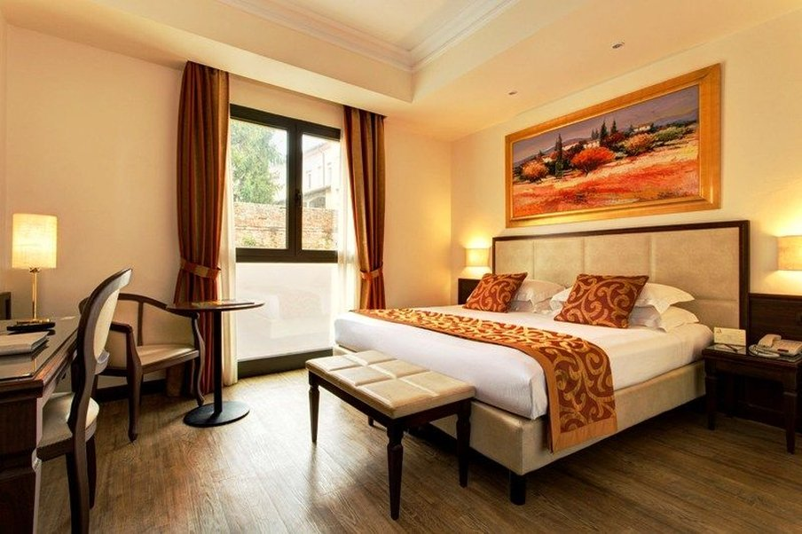 Athena Hotel-Standard room double/twin bed<br/>Image from Leonardo