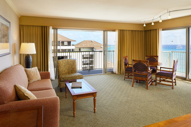 Outrigger Reef Waikiki Beach Resort - Outrigger Reef Waikiki Beach 1Bedroom Ocean View Suite <br/>Image from Leonardo