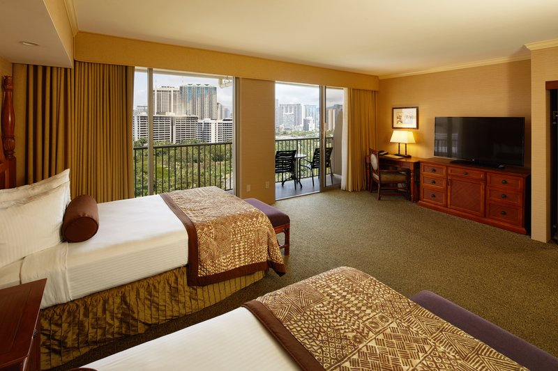 Outrigger Reef Waikiki Beach Resort - Outrigger Reef Waikiki Beach Cityview Double Bed <br/>Image from Leonardo