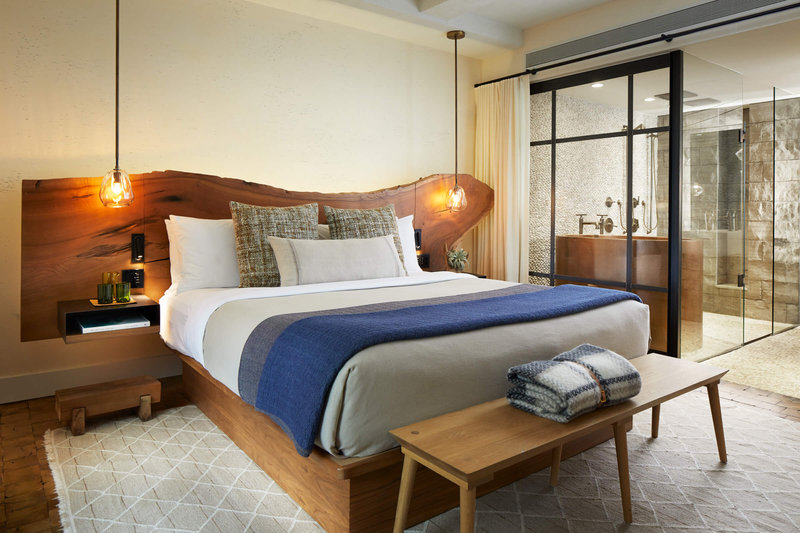 1 Hotel Central Park-Greenhouse Suite Master Bedroom<br/>Image from Leonardo