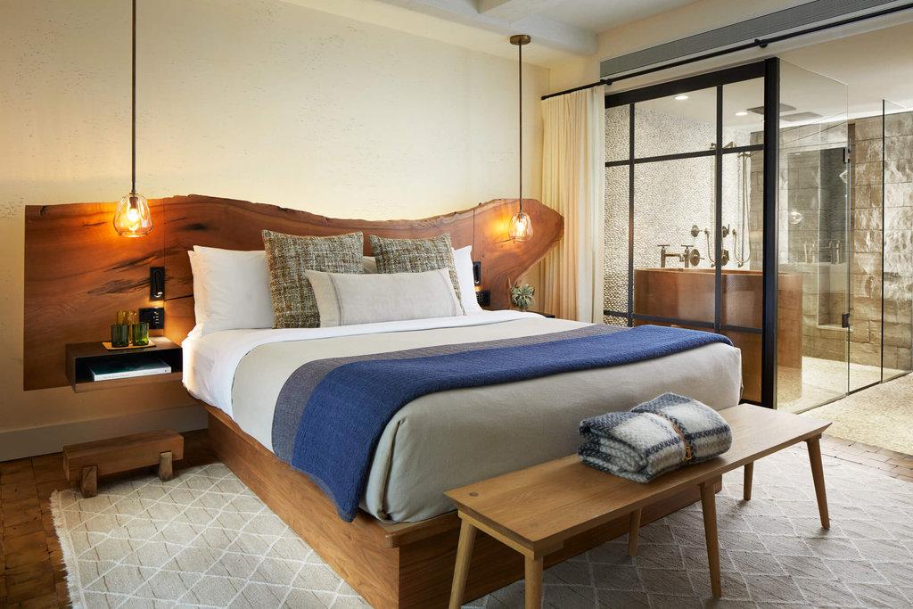 1 Hotel Central Park-Greenhouse Suite Master Bedroom<br/>Image from Leonardo