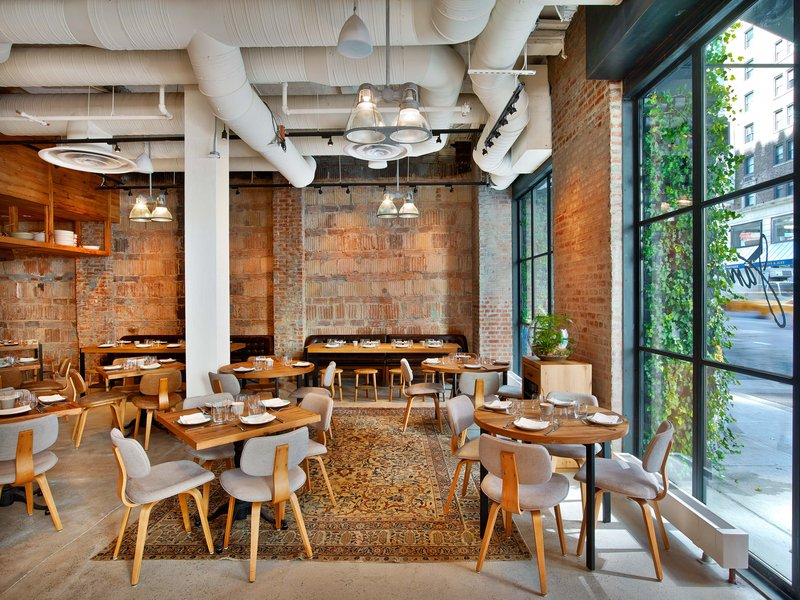 1 Hotel Central Park-Jams Restaurant<br/>Image from Leonardo