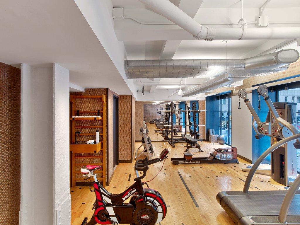 1 Hotel Central Park-Field House Fitness Center<br/>Image from Leonardo