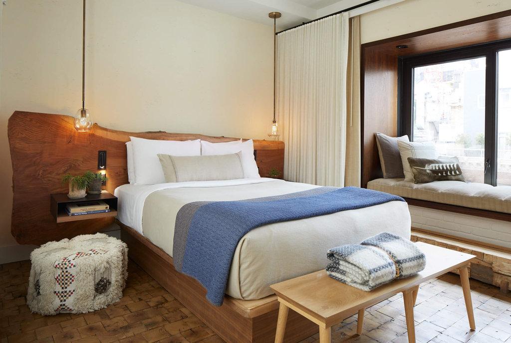 1 Hotel Central Park-Greenhouse Suite Guest Bedroom<br/>Image from Leonardo