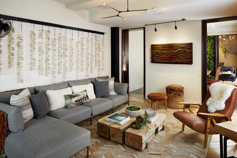1 Hotel Central Park-Greenhouse Suite Living Area<br/>Image from Leonardo
