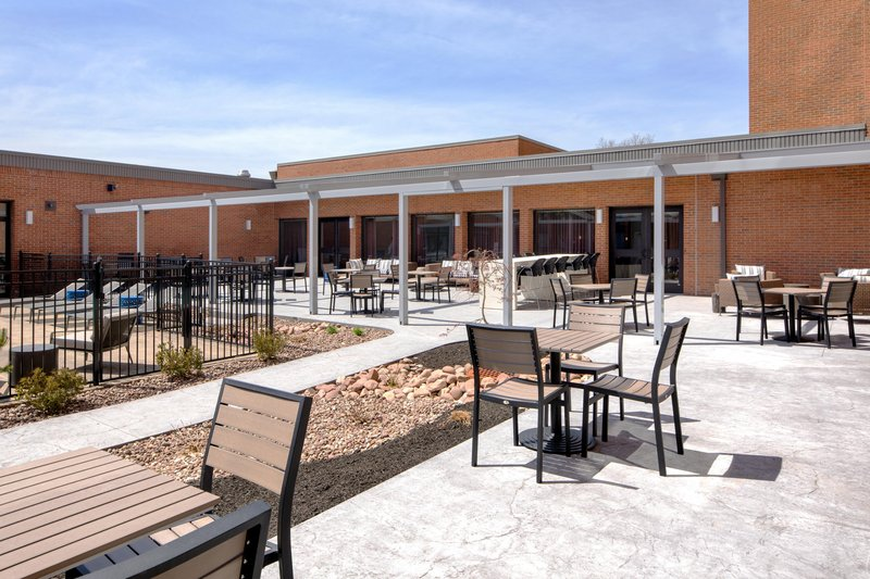 DoubleTree by Hilton Syracuse-Outdoor Patio Area<br/>Image from Leonardo