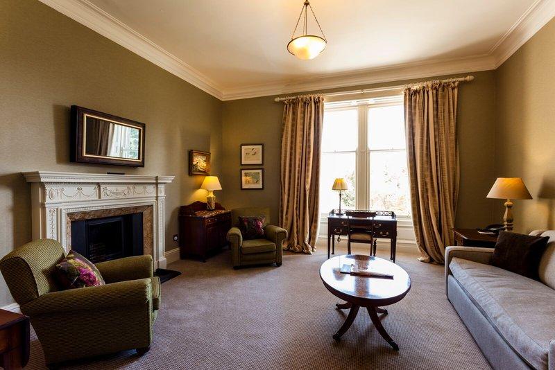 Cromlix House Hotel-Suite Living Room<br/>Image from Leonardo