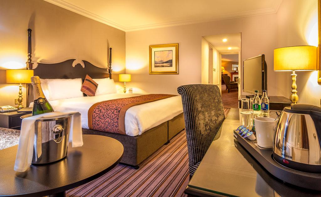 Clayton Hotel Ballsbridge - Classic Suite Bedroom <br/>Image from Leonardo