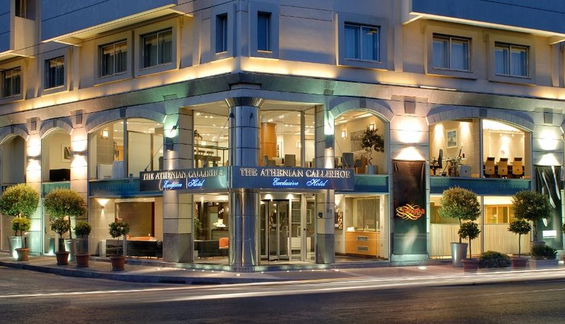 Athenian Callirhoe Hotel-Exterior<br/>Image from Leonardo