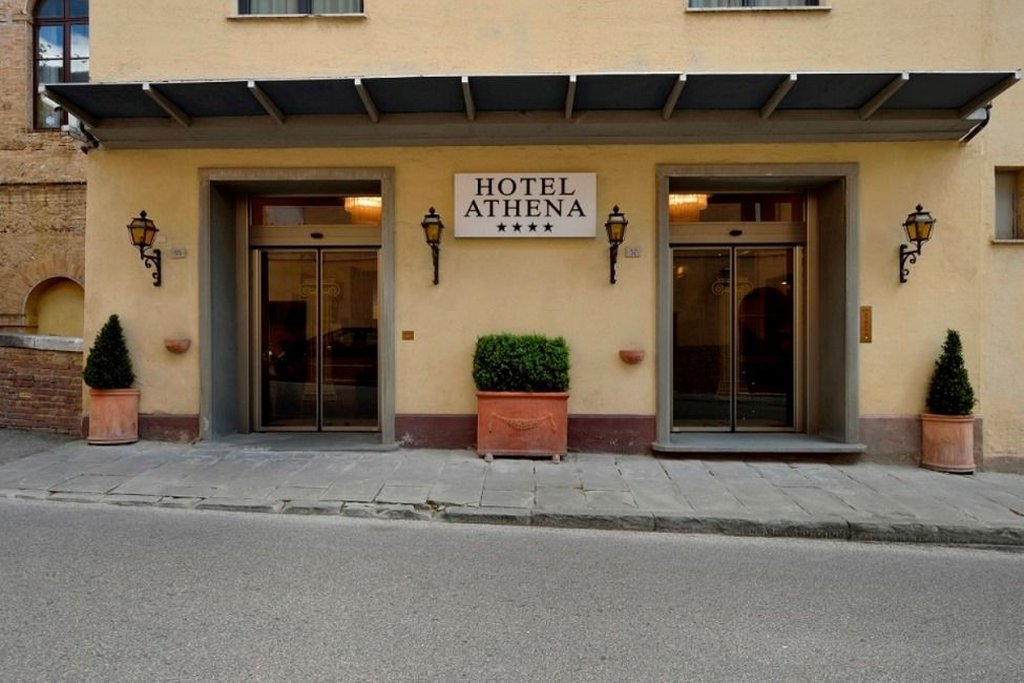 Athena Hotel-Entrance view<br/>Image from Leonardo