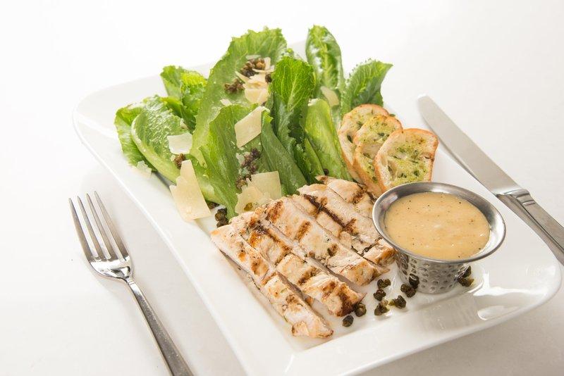 DoubleTree by Hilton Syracuse-Chicken Ceasar Salad<br/>Image from Leonardo