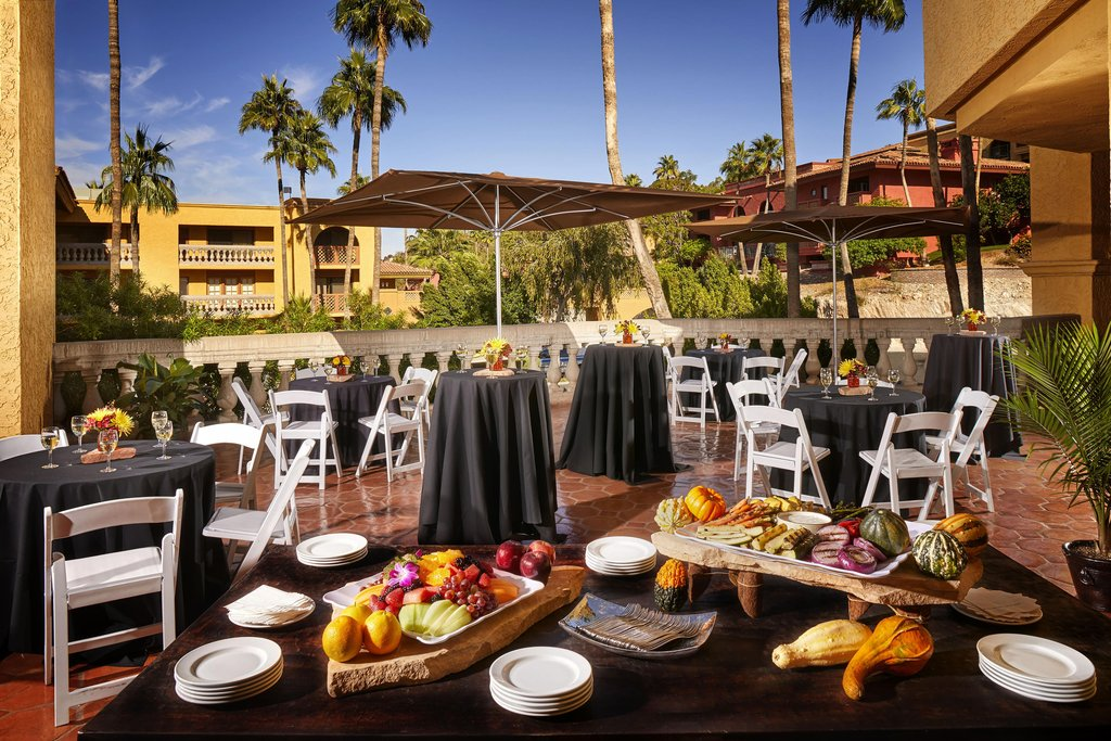Pointe Hilton Tapatio Cliffs - Courtrooms Patio <br/>Image from Leonardo