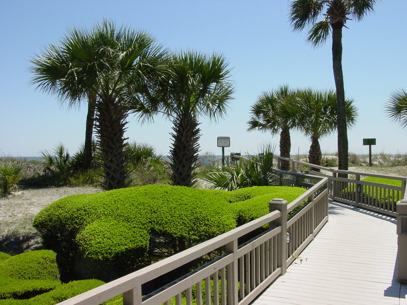 Omni Hilton Head Oceanfront Resort-Private Beach Access<br/>Image from Leonardo