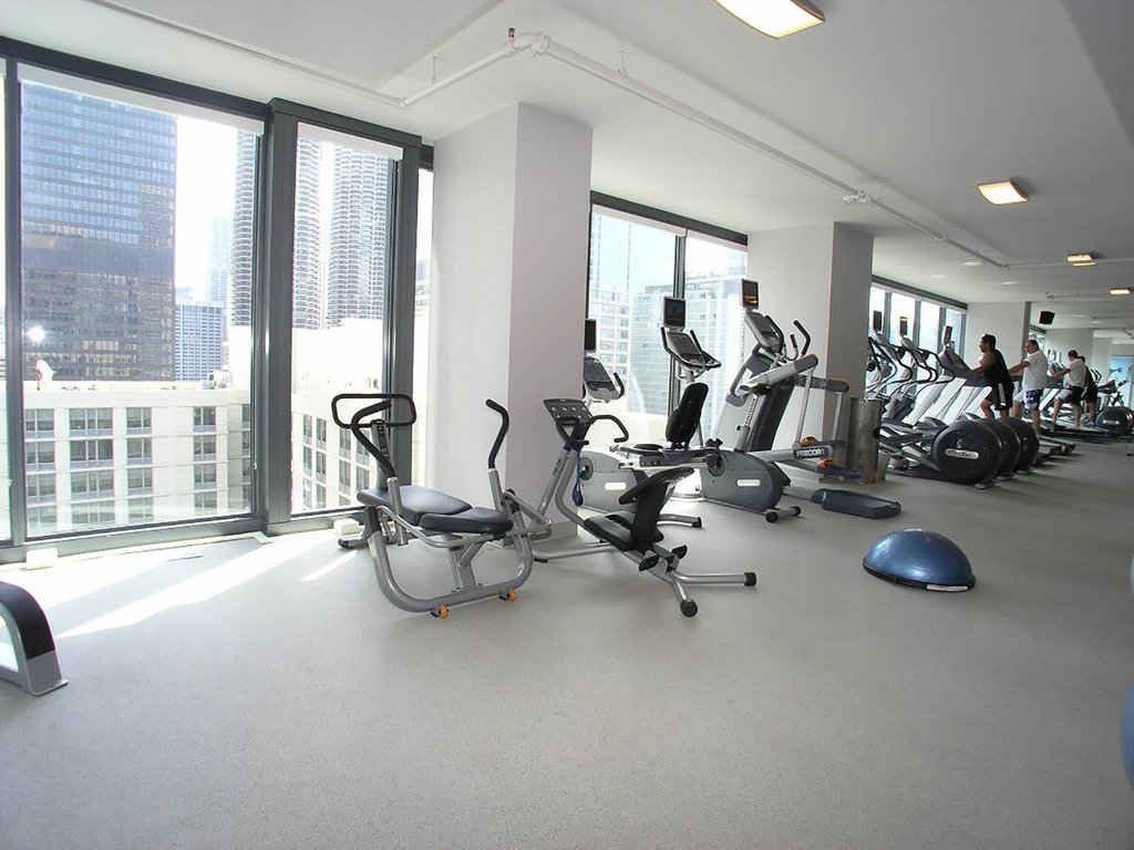 State And Grand Apartments-Fitness Center<br/>Image from Leonardo
