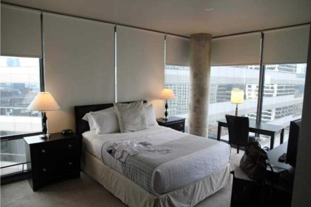 State And Grand Apartments-Bedroom<br/>Image from Leonardo
