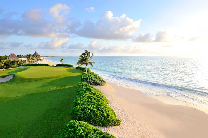 Fairmont Mayakoba - Golf course <br/>Image from Leonardo