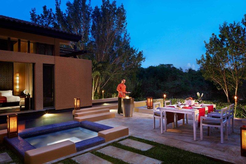 Fairmont Mayakoba - In Villa Dining <br/>Image from Leonardo