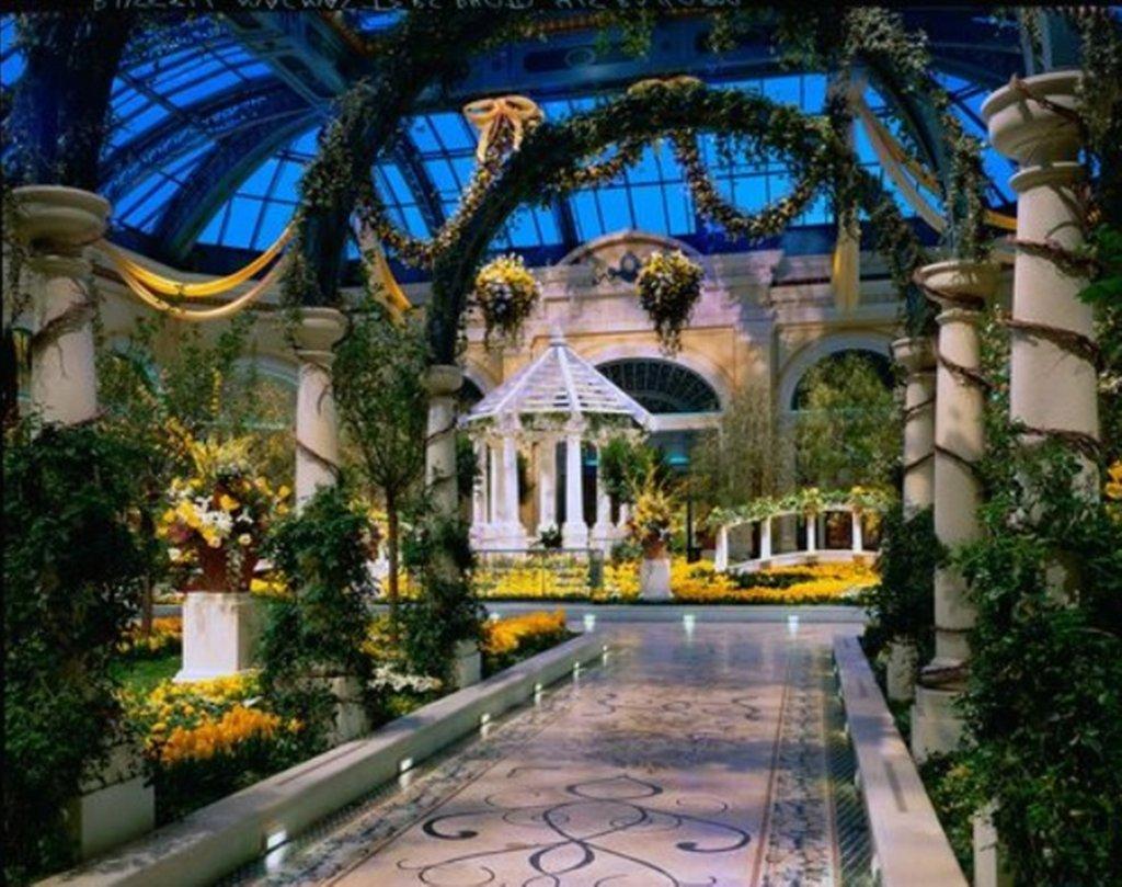 Bellagio - Bellagio Conservatory Yellow Flowers <br/>Image from Leonardo