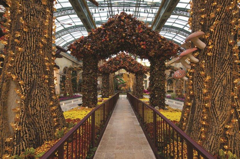 Bellagio-Conservatory Botanical Garden<br/>Image from Leonardo