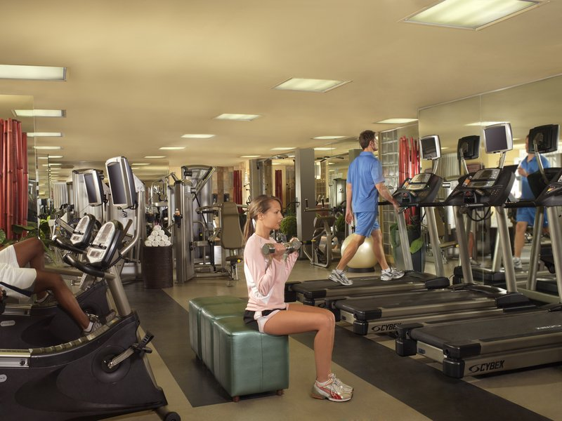 New York-New York Hotel - Fitness Room <br/>Image from Leonardo