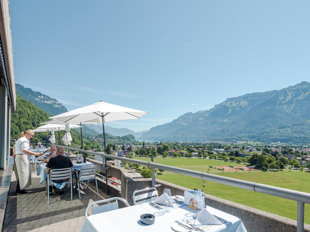 Metropole Hotel Interlaken-Panorama Restaurant Top OMet<br/>Image from Leonardo