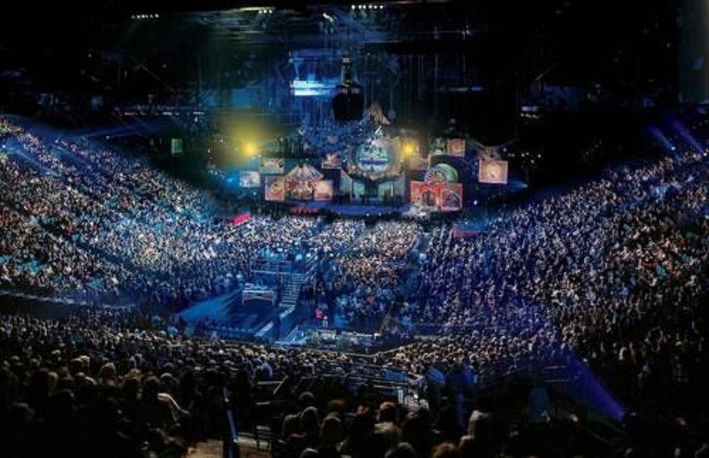 MGM Grand Hotel & Casino - Grand Garden Arena <br/>Image from Leonardo