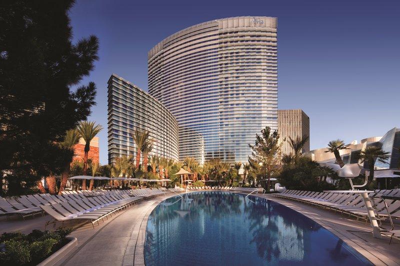 Aria Resort and Casino-Pool<br/>Image from Leonardo