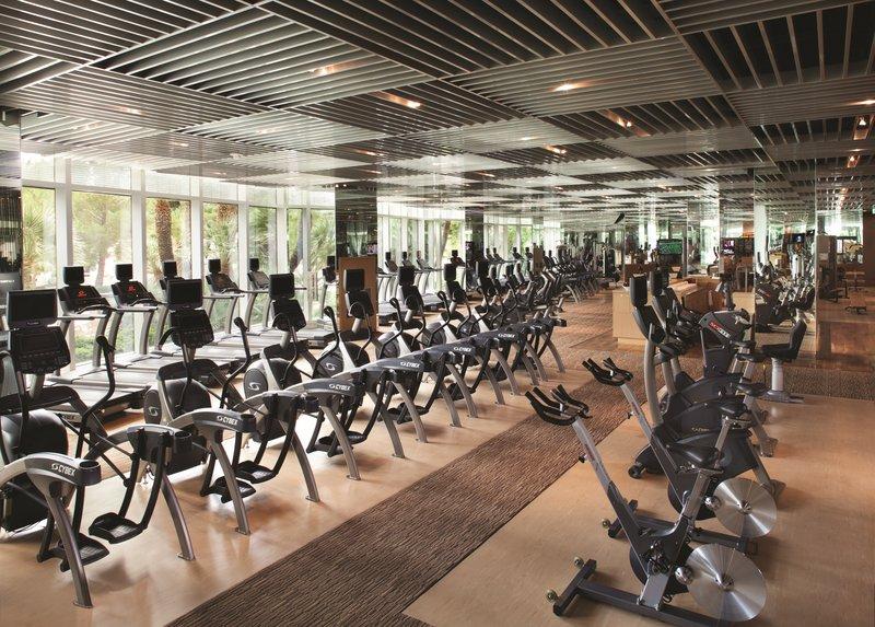 Aria Resort and Casino - Fitness Room <br/>Image from Leonardo
