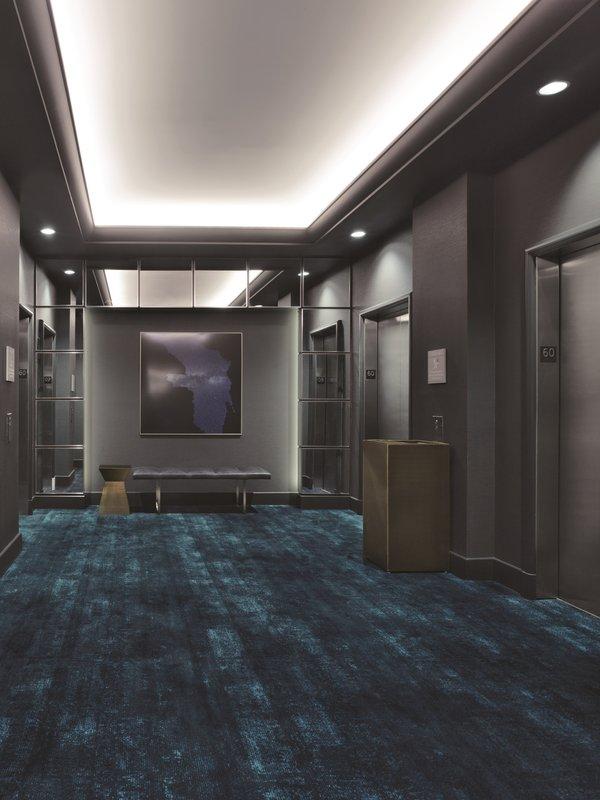 Delano Las Vegas at Mandalay Bay-Interior Elevators<br/>Image from Leonardo