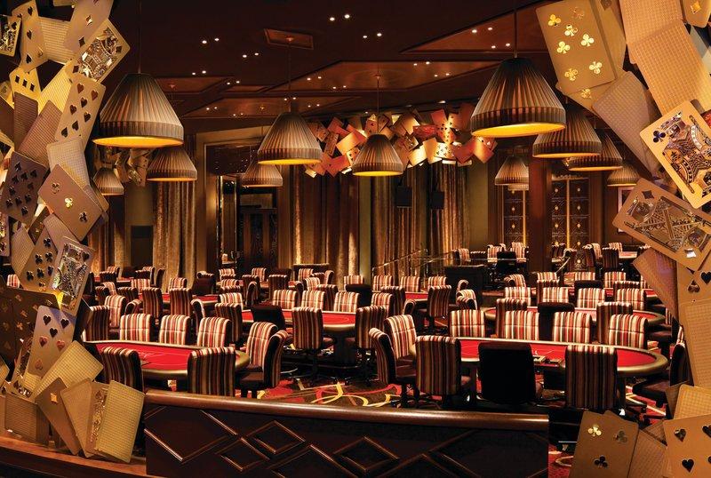 Aria Resort and Casino-Poker Room<br/>Image from Leonardo