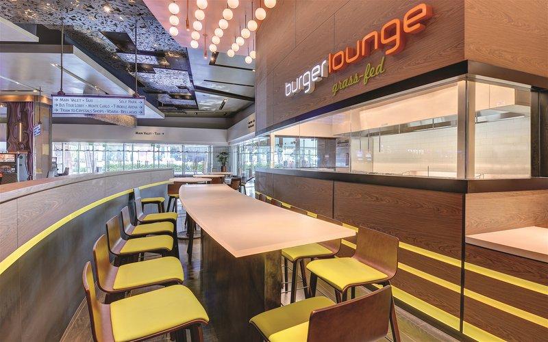 Aria Resort and Casino-Burger Lounge<br/>Image from Leonardo