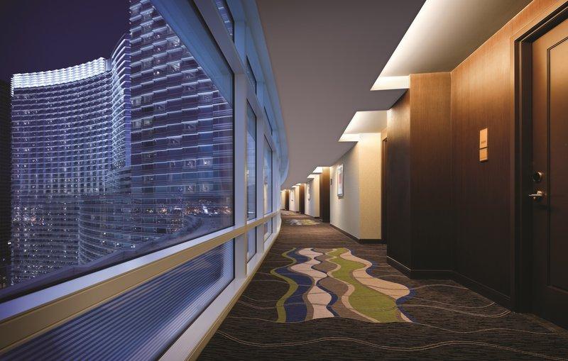 Aria Resort and Casino - Hotel Hallway <br/>Image from Leonardo