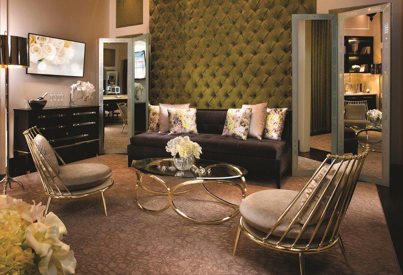 Aria Resort and Casino - Wedding Chapel Brides Room <br/>Image from Leonardo
