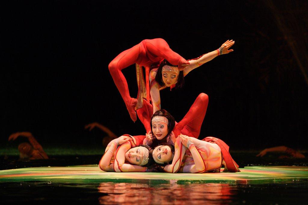 Bellagio - O Cirque Du Soleil <br/>Image from Leonardo