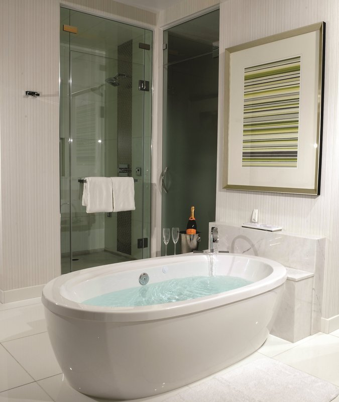 Aria Resort and Casino - Sky Suites Bathroom <br/>Image from Leonardo
