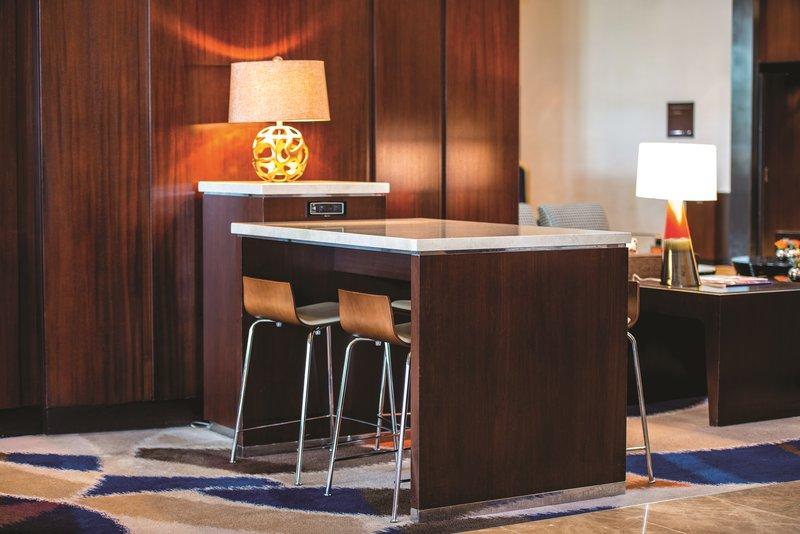Vdara Hotel & Spa at Aria Las Vegas - Tech Tables <br/>Image from Leonardo