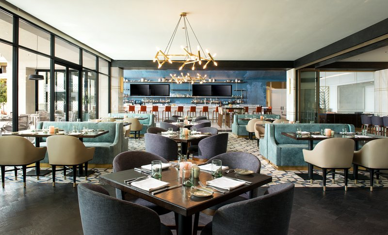 St. Regis Monarch Beach-Aveo Table And Bar Dining Room<br/>Image from Leonardo
